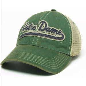 Notre Dame Fighting Irish Legacy Truckers Mesh Cap